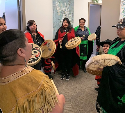 Drumming Group at Smithers PLC Opening